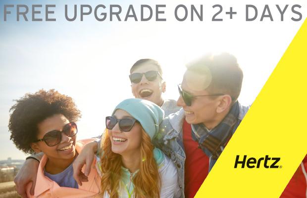 Hertz Free Offer upgrade