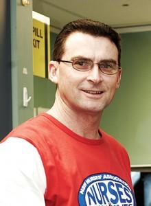 NSWNMA General Secretary Brett Holmes