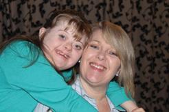 Debbie Lawson with daughter Olivia