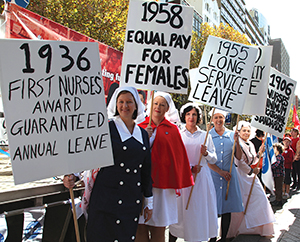 May Day March - May Days ongoing relevance - HistoricalNurseLineUp