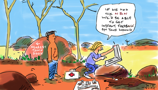 Agenda - Health to Benefit from National Broadband Network - outback2