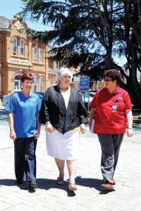 Sharney Fleming, Jane Cotter and Lorraine Emerton are determined to get results for the Goulburn community.
