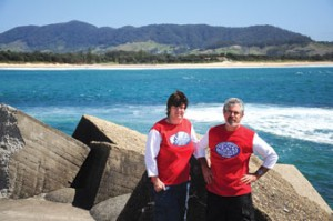 Sue Kendall, President of NSWNA Coffs harbour Mental Health Branch and Jack Schwartz, Vice President