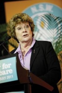 Health Minister Jillian Skinner