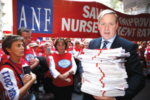 A petition of 40,000 signatures was presented to Minister David Davis, following a march on his office on 16 December.