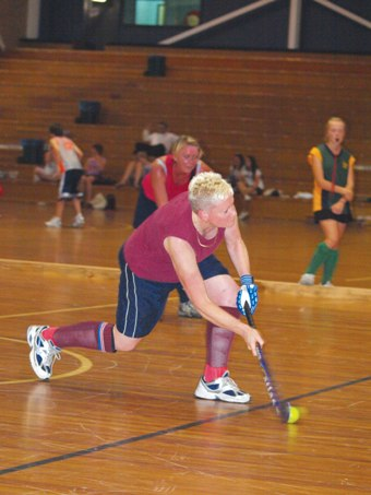 Fighting Fit Nurses - Getting fit together image - Hockey2