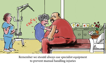 OHS - Bariatric patients weighing up the issues - crackback3