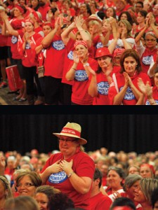 Emotions ran high at the ANF mass meetings.