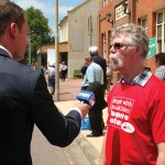Michael Grant speaks to NBN at Maitland Forum 10_2_14