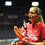 Stockton Centre Dr Jillian Evans speaks out at Newcastle Forum 11_3_14