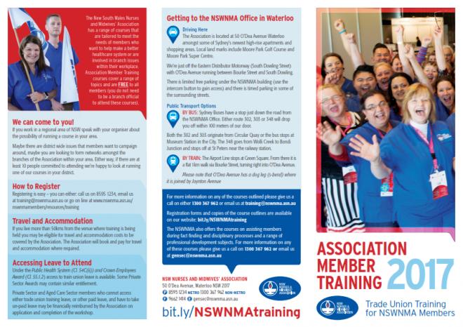 Association Member Training Information Leaflet_001