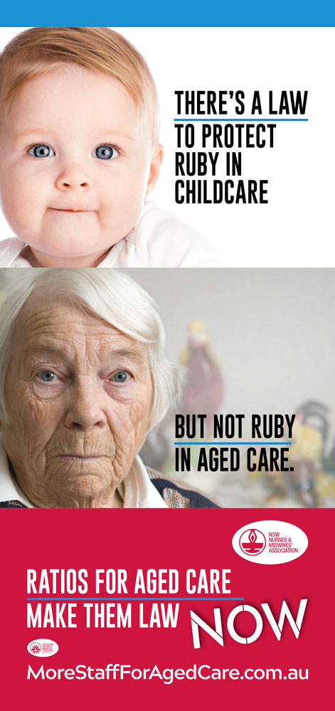Support aged care staffing and skill mix – NSW Nurses and