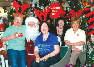 Central Coast QACAG members were busy during the holiday period when they held a stall at Deepwater Plaza at Woy Woy.