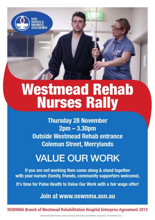 Westmead Rehab Nurses Rally Poster_001