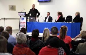 Forensic Mental Health speakers Brad Roser, Chris Marsland, Jane Jackson & Shona Macleod 18_7_14