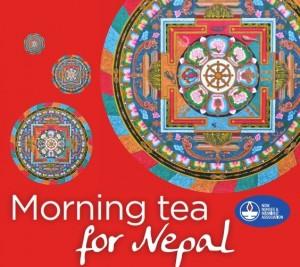 Morning tea for Nepal